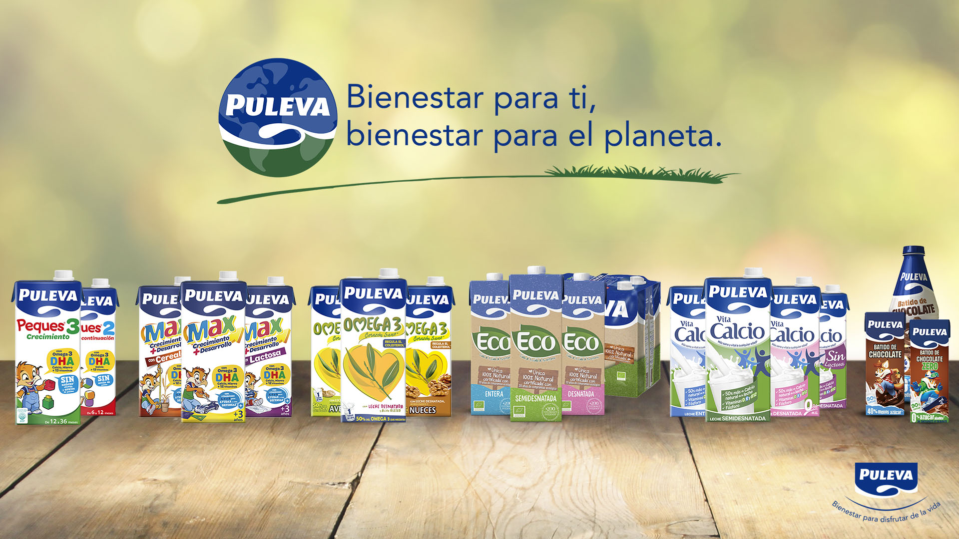 Puleva refuerza su compromiso con el medio ambiente a través de  nuevos envases y embalajes más sostenibles