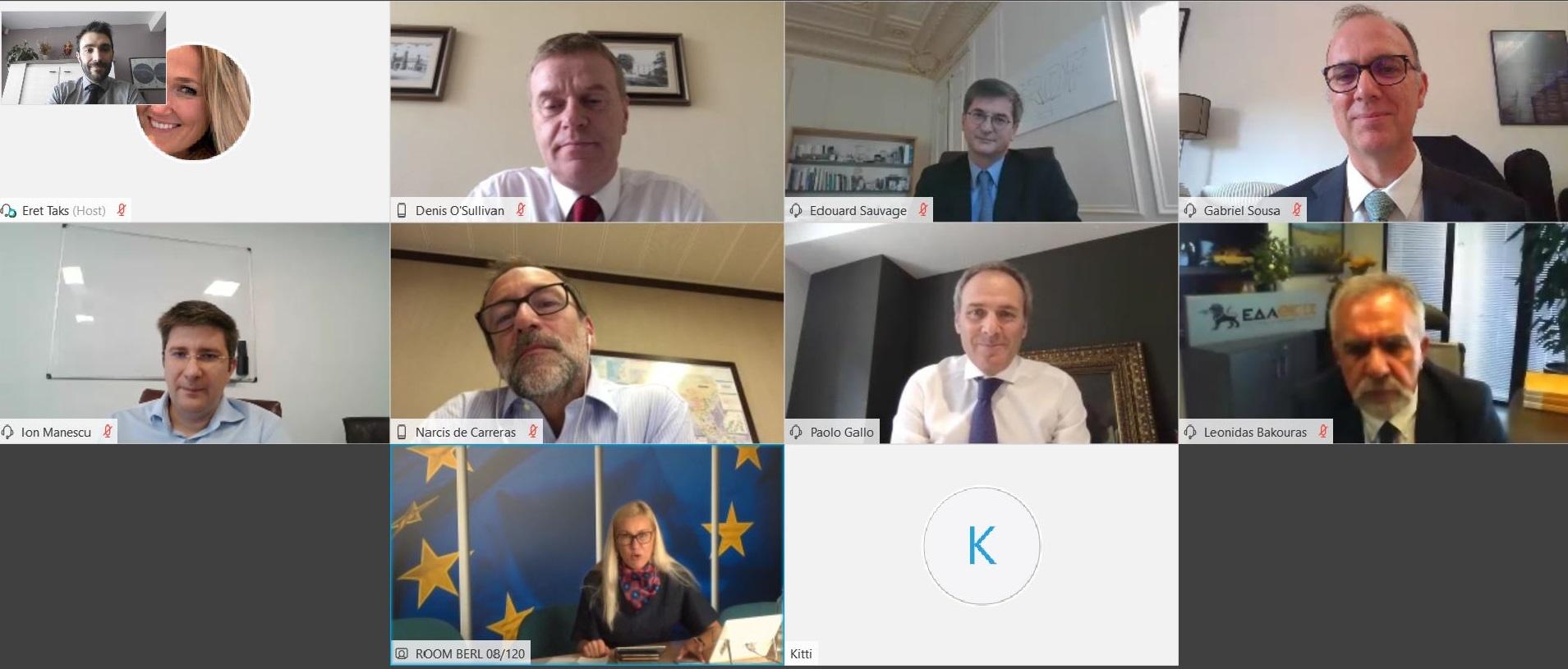 El CEO de Nedgia, junto con los de las principales distribuidoras de gas europeas, se reúnen con la Comisaria de Energía de la UE