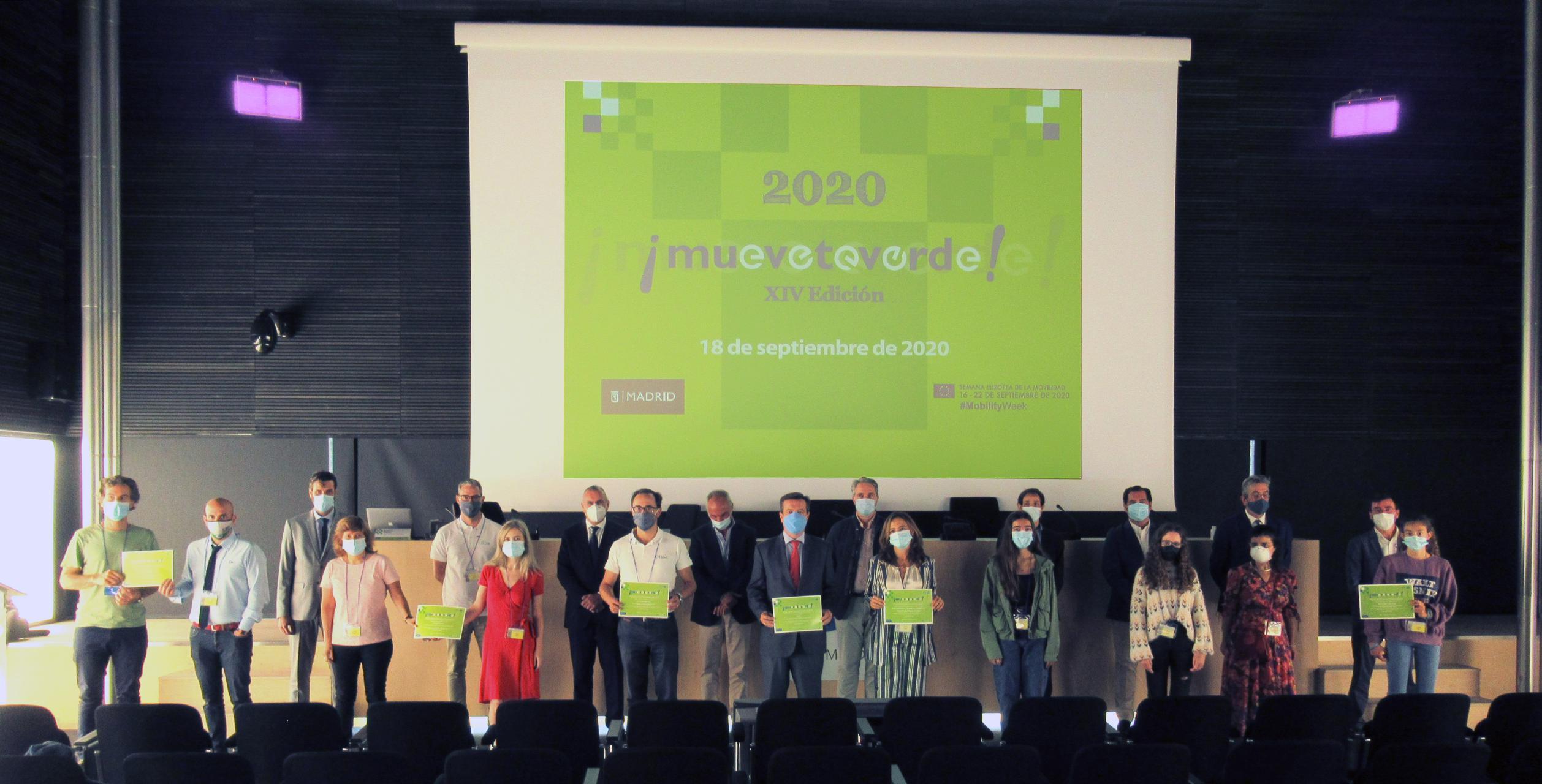 El Ayuntamiento concede a IFEMA el premio 'Muévete verde' a la eficiencia energética