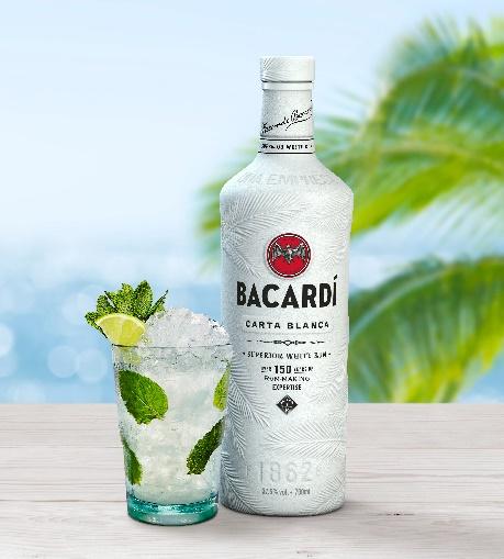 Bacardi es la primera empresa de destilados en luchar contra la contaminación plástica con una botella 100% biodegradable