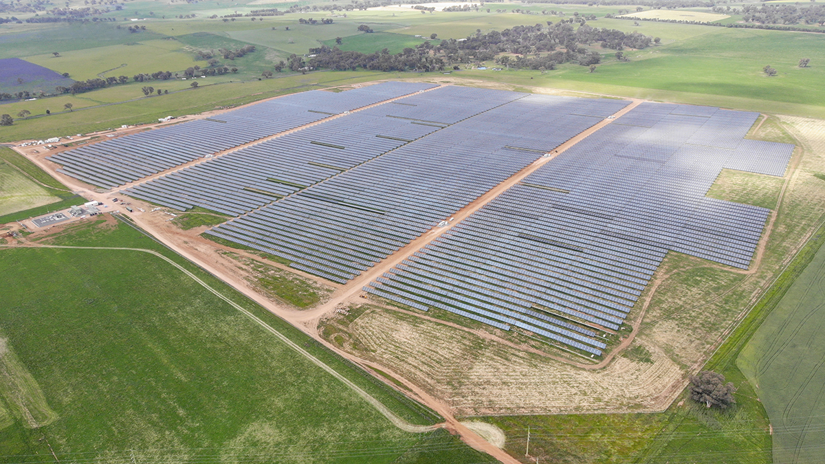 El EPCista internacional GRS energiza con éxito la Molong Solar Farm en Australia e inicia su producción