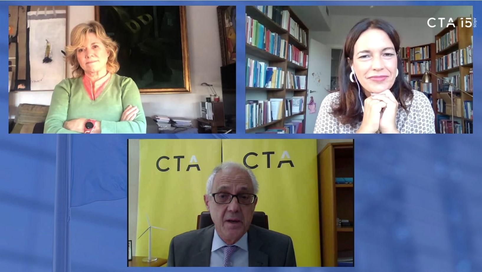 """Las eurodiputadas Lina Gálvez y Pilar del Castillo animan a las empresas a preparar """"buenos proyectos"""" para captar el Fondo Next Generation EU"""