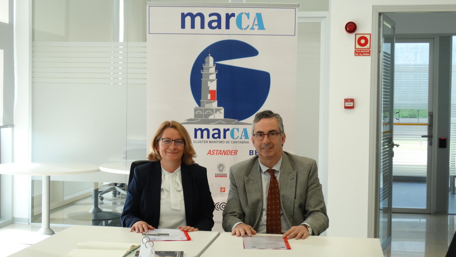 El Clúster MarCA presenta un proyecto piloto para posicionar Cantabria como referente en la descarbonización industrial