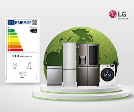 El nuevo etiquetado energético confirma el liderazgo de LG en eficiencia