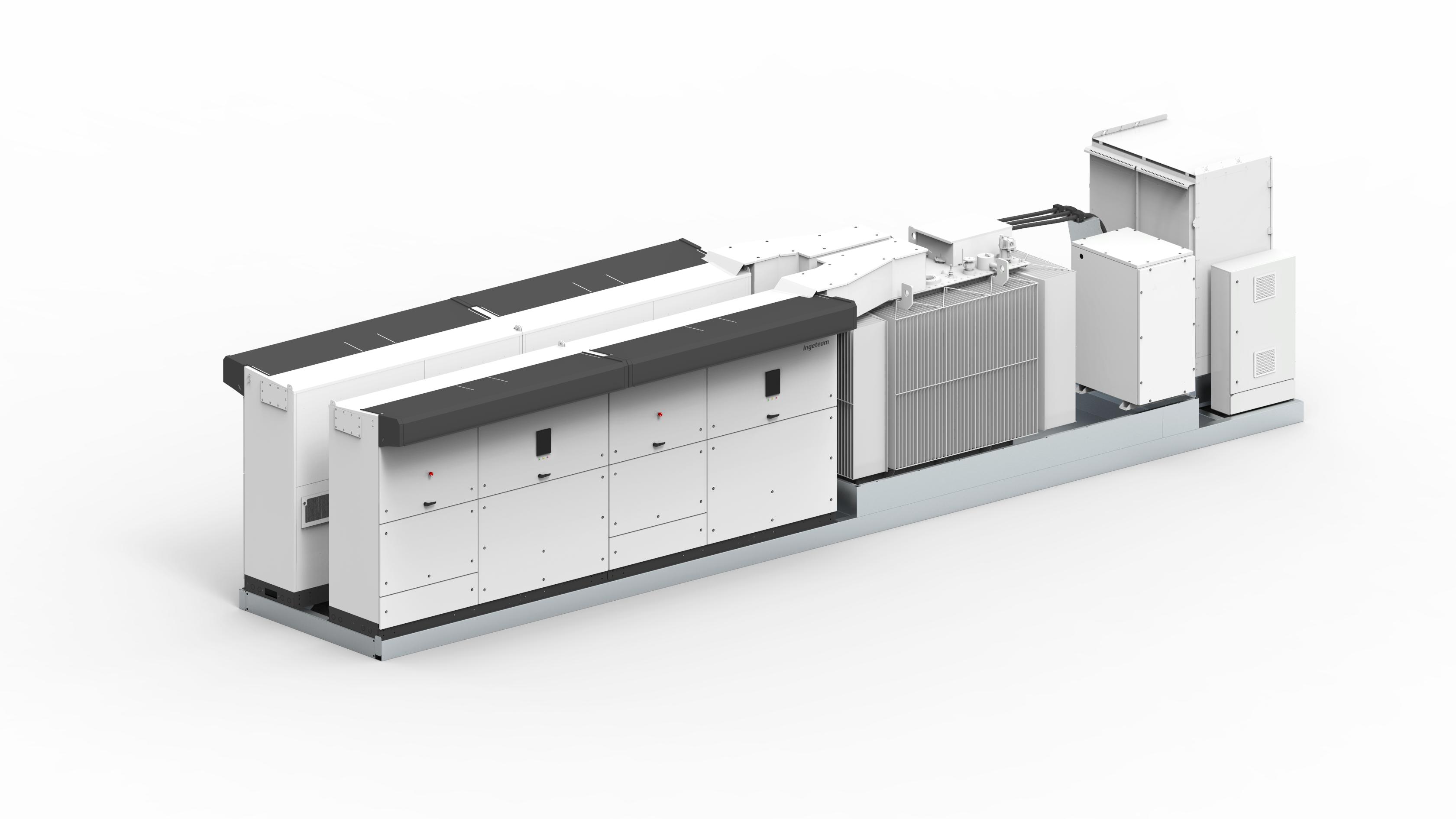 Nueva power station de Ingeteam para plantas solares y sistemas de almacenamiento a gran escala