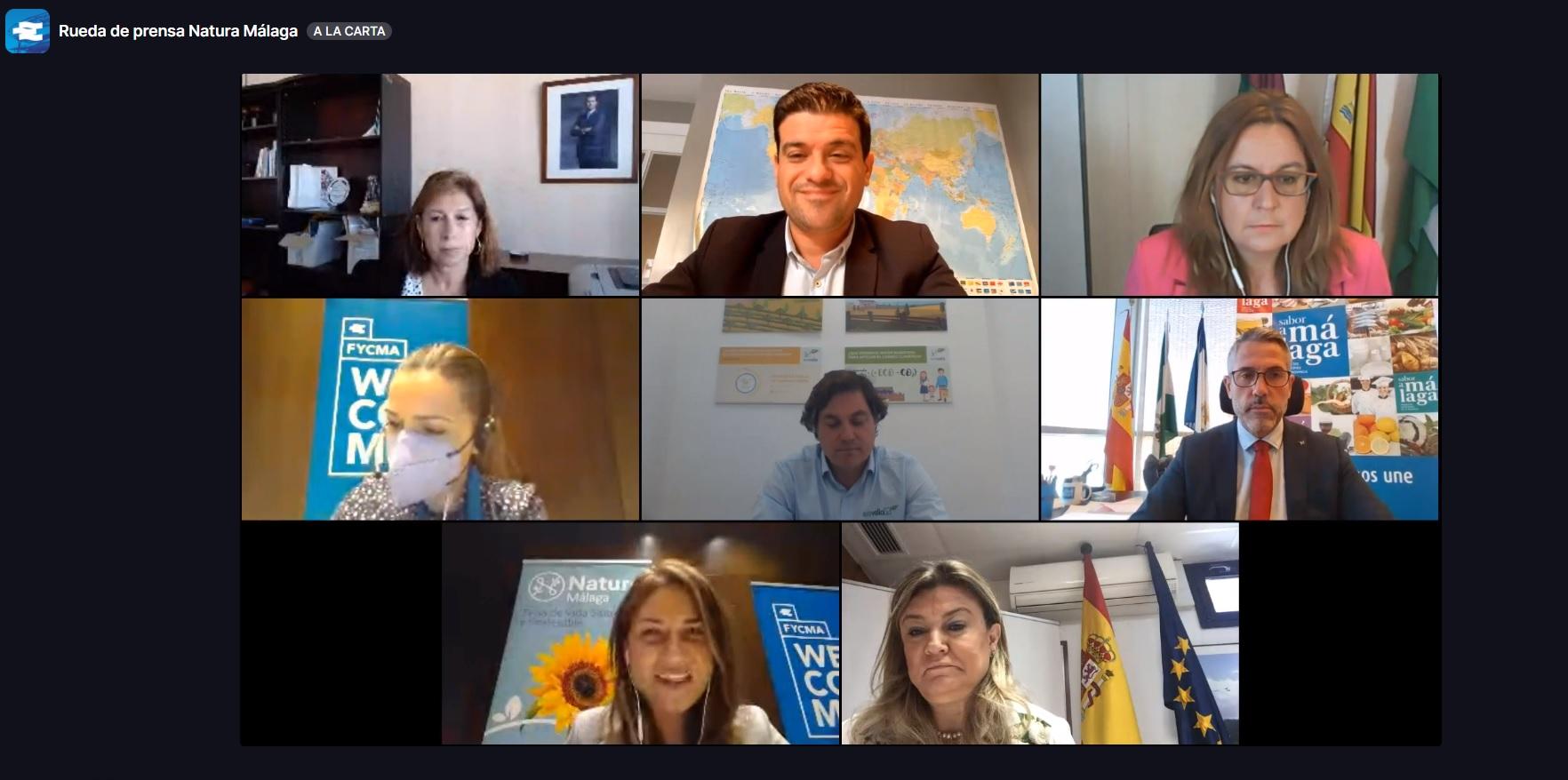 Producción ecológica, emprendimiento verde y sostenibilidad, protagonistas de Natura Málaga 2021
