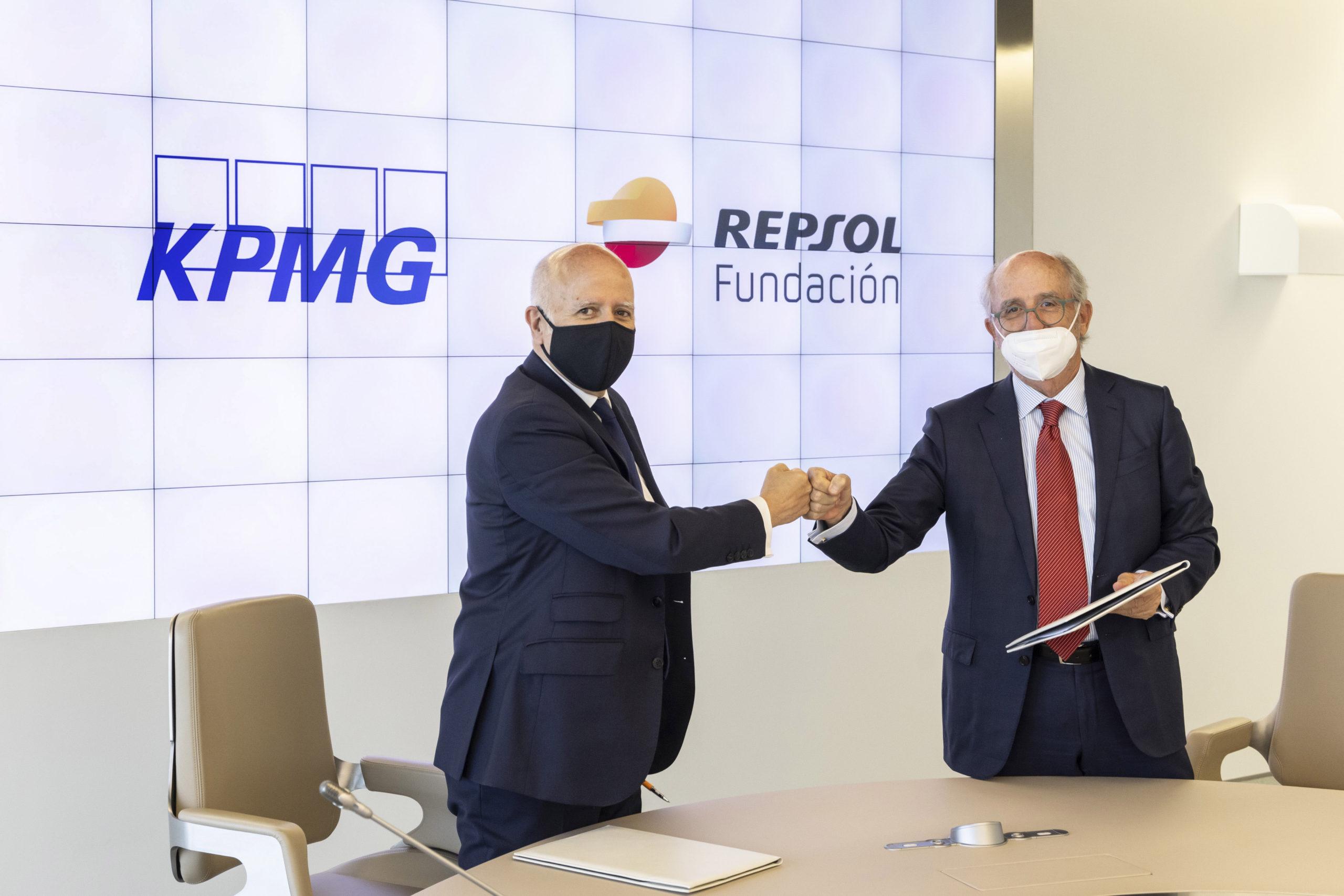 Fundación Repsol y KPMG lanzan una iniciativa que ayudará a España a ser un referente europeo en compensación de emisiones