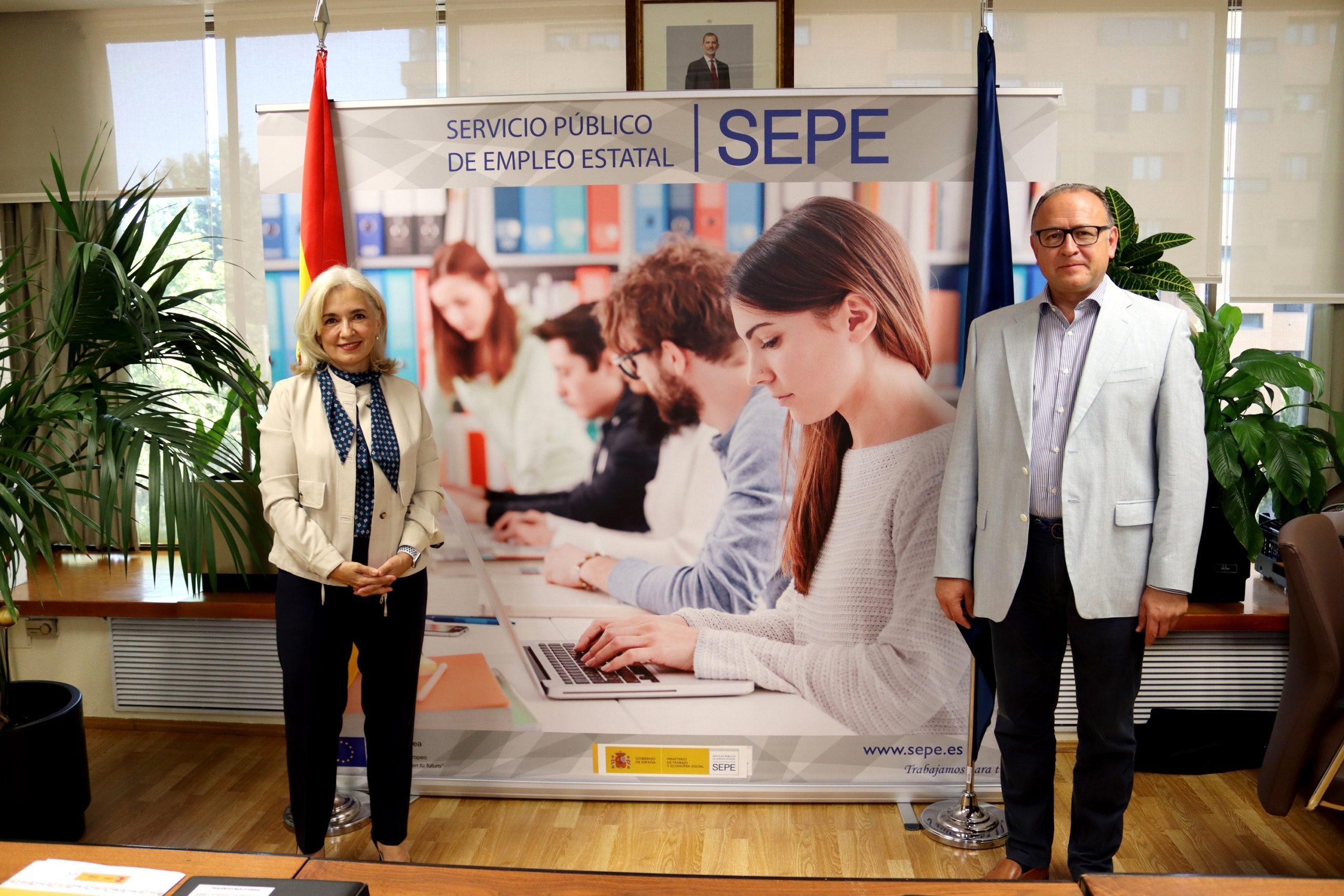 Fundación Naturgy y el SEPE colaborarán para alinear la formación profesional a desempleados con las necesidades actuales del sector energético