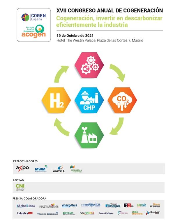 Cogeneración, invertir en descarbonizar eficientemente la industria